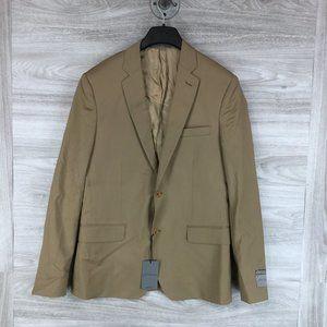 John W. Nordstrom  Tan 2 Button Jacket Blazer